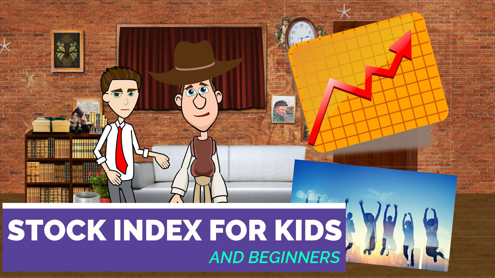 Stock Index for Kids Teens and Beginners