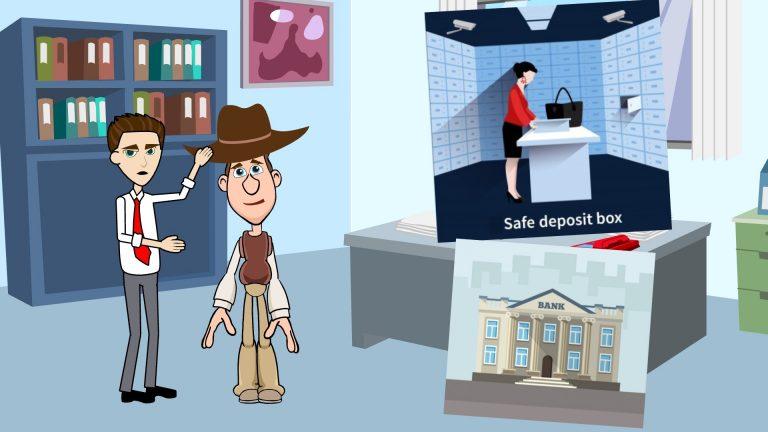 Safe Deposit Box or Safety Deposit Box