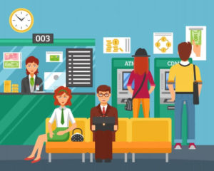 Front Office of a Bank - Financial Literacy for Kids