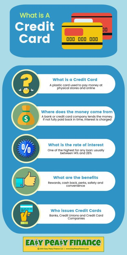 What is a Credit Card Infographic