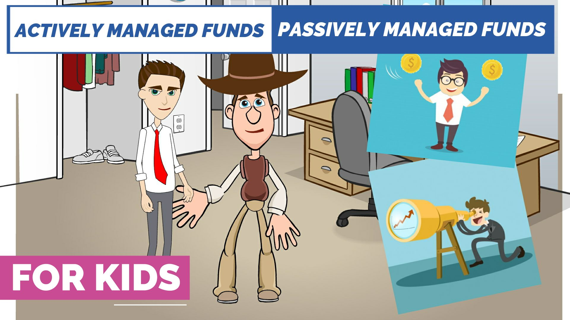 Actively Managed Funds vs Passively Managed Funds