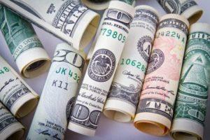 Dollar Bills - Different Denominations