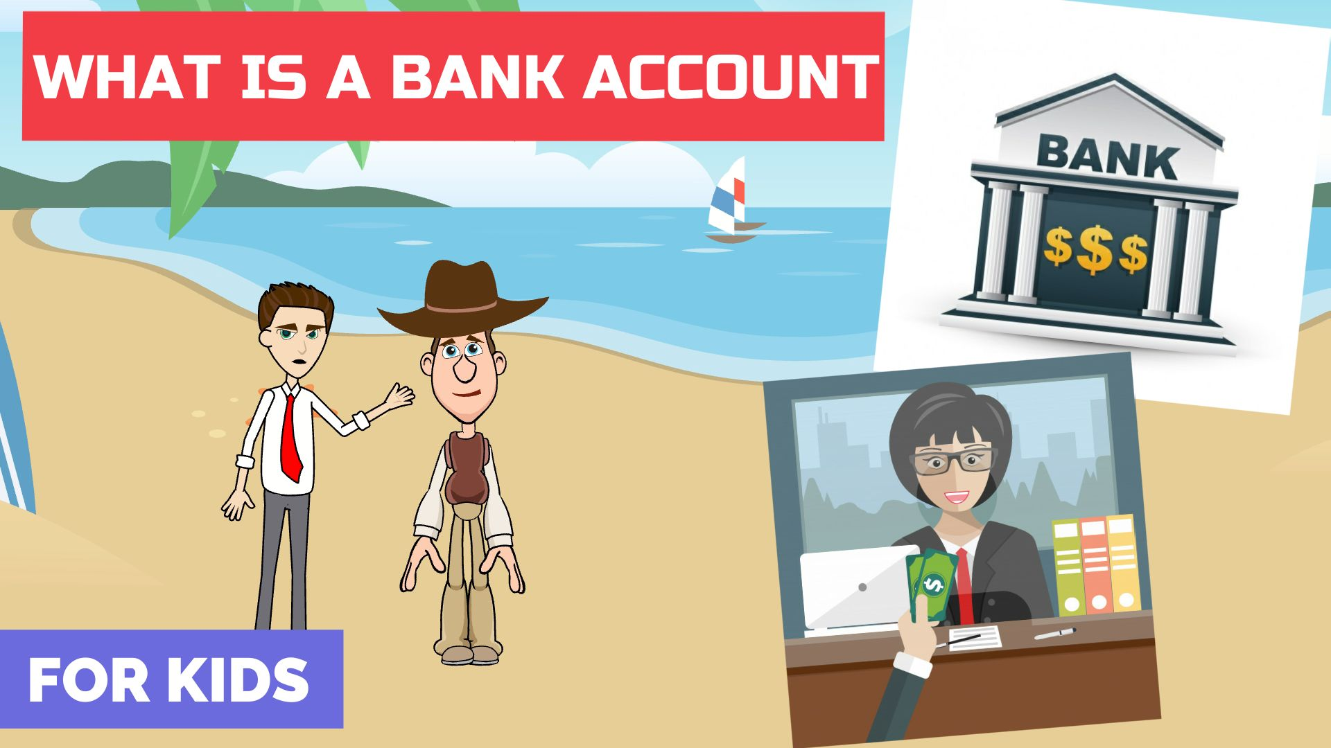 What is a Bank Account - Super Simple Explanation