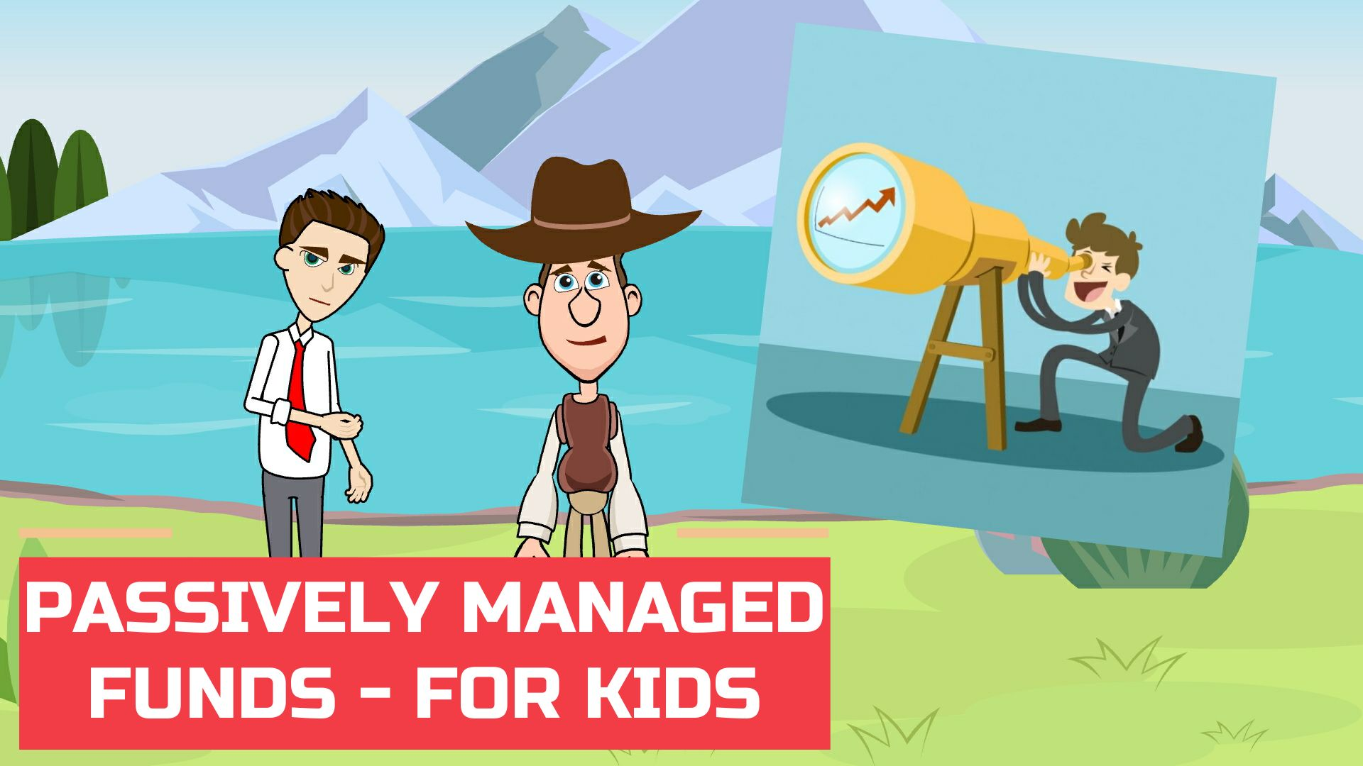 What are Passively Managed Funds  – Easy Peasy Finance for Kids and Beginners – Podcast