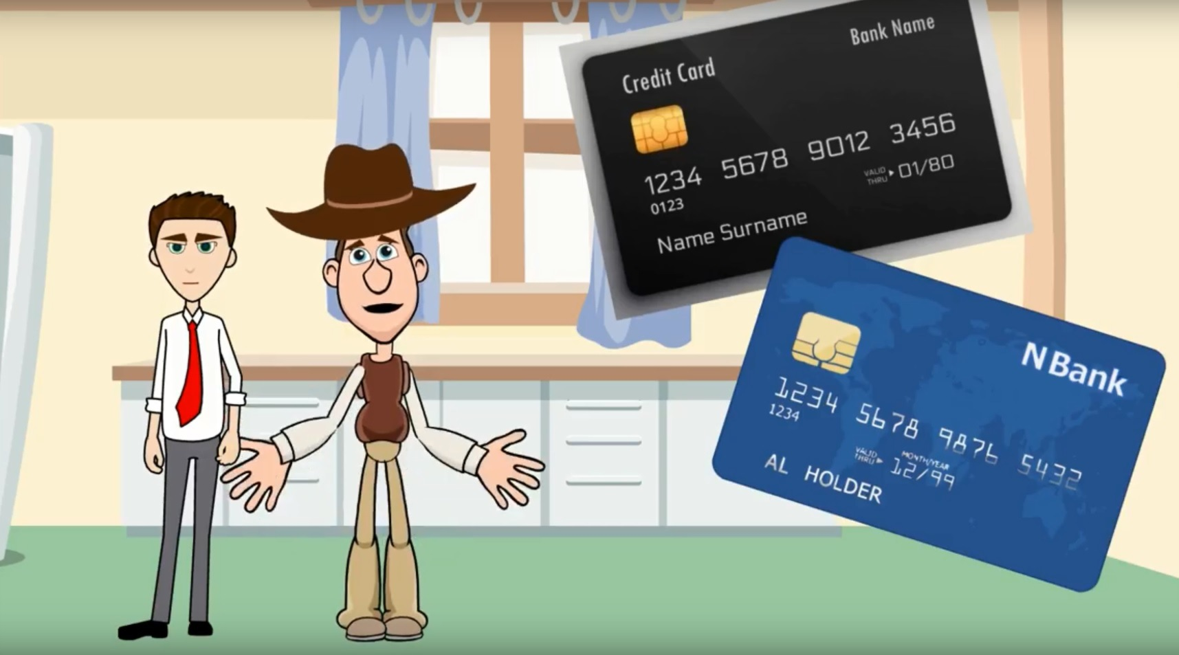 Course: Basics of Credit Cards | 116 Credit vs Debit Card 3