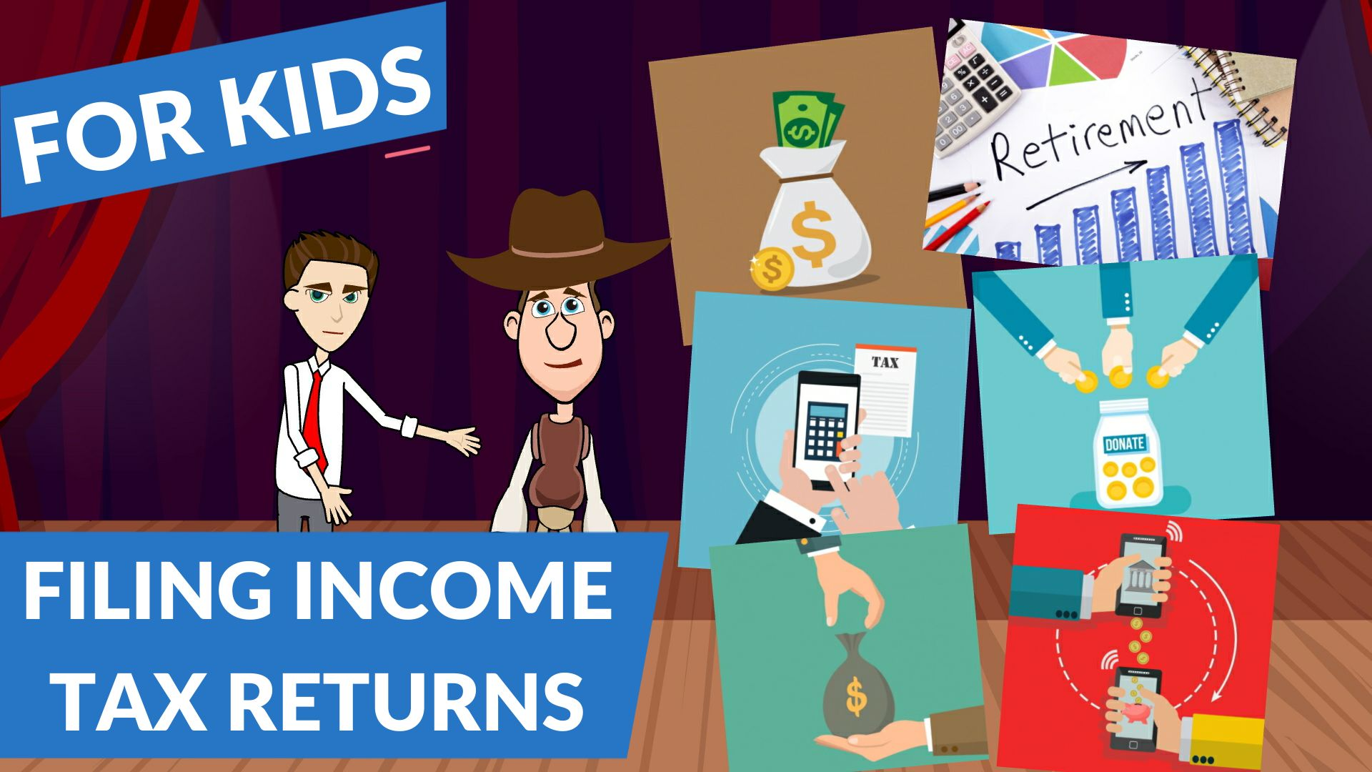 What is Filing an Income Tax Return – Easy Peasy Finance for Kids and Beginners – Podcast