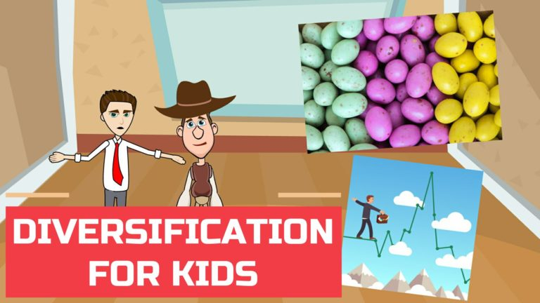 What is Diversification – Easy Peasy Finance for Kids and Beginners – Podcast
