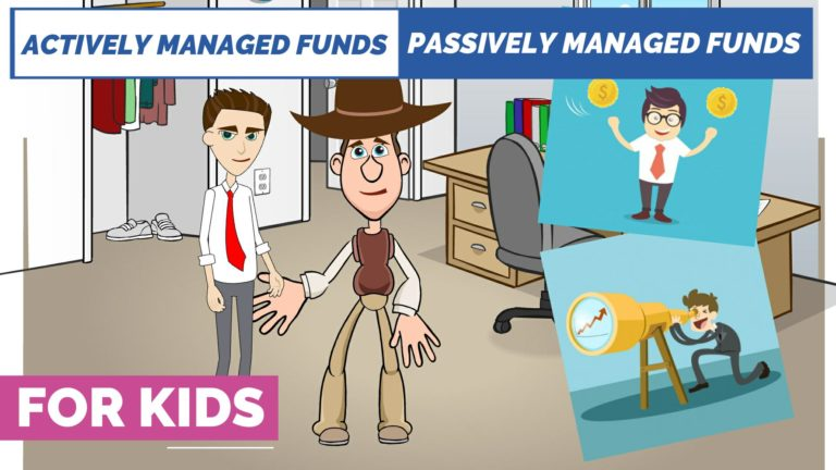 Actively Managed Funds vs Passively Managed Funds – Easy Peasy Finance for Kids and Beginners – Podcast