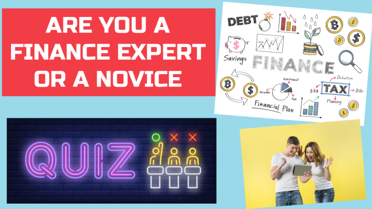 Are you a finance expert or a novice - Investing Quiz - Instantly Measure Your Expertise