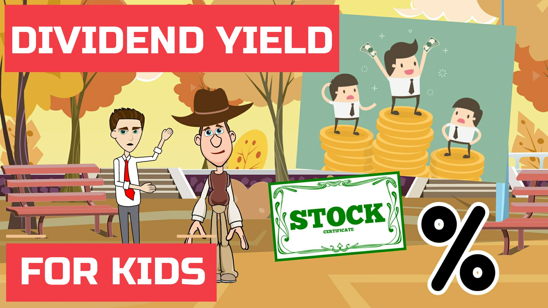 What is Dividend Yield – Easy Peasy Finance for Kids and Beginners – Podcast
