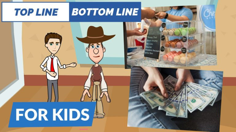 What are Topline and Bottomline – Easy Peasy Finance for Kids and Beginners – Podcast