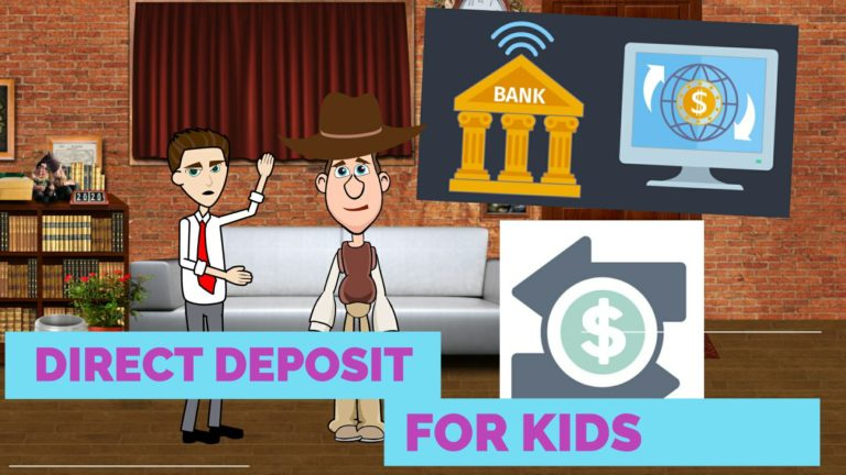 What is Direct Deposit or Bank Direct Deposit – Easy Peasy Finance for Kids and Beginners – Podcast