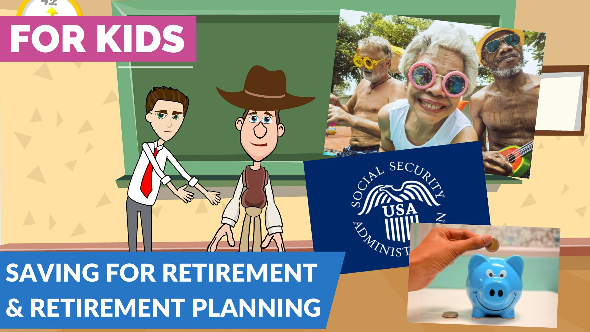 Retirement Planning and Saving for Retirement for Kids, Teens and Beginners | 162 Saving for Retirement New