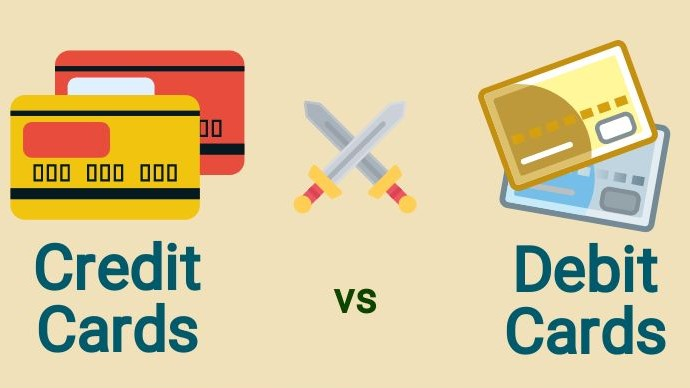 Credit vs Debit Card Infographic - Thumbnail