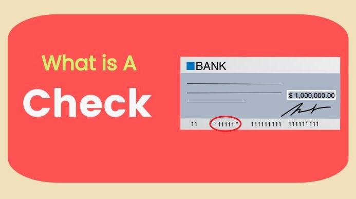 What is a Check or Cheque - Thumbnail