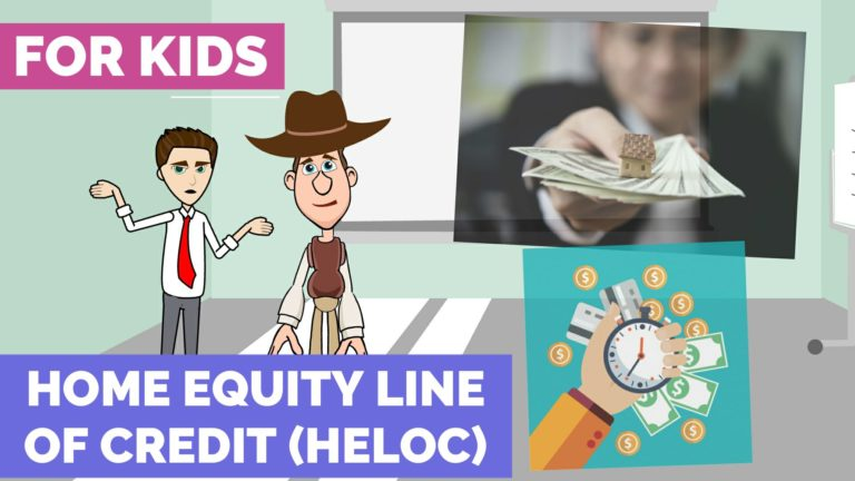 What is Home Equity Line of Credit (HELOC) – Easy Peasy Finance for Kids and Beginners – Podcast