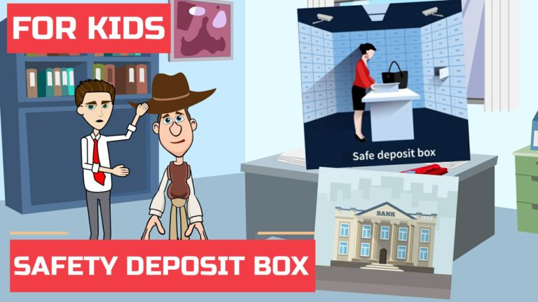 What is a Safe Deposit Box or Safety Deposit Box – Easy Peasy Finance for Kids and Beginners – Podcast