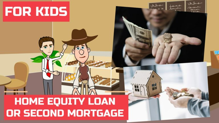 What is Home Equity Loan or Second Mortgage – Easy Peasy Finance for Kids and Beginners – Podcast