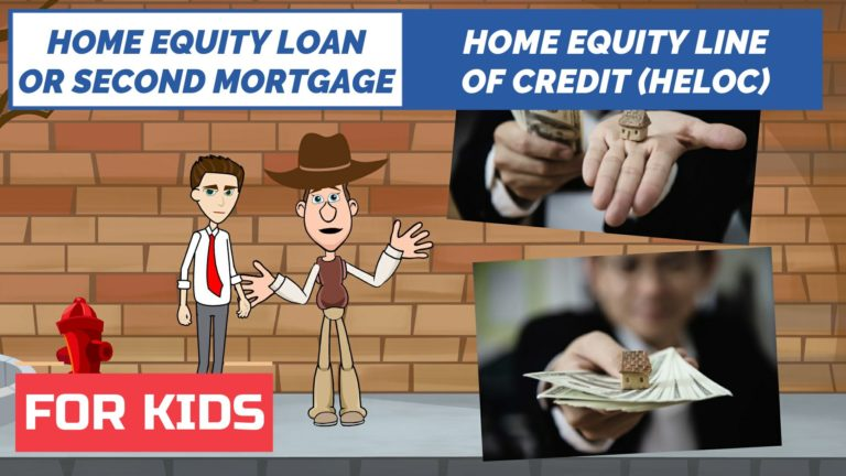 Home Equity Loan vs Home Equity Line of Credit – Easy Peasy Finance for Kids and Beginners – Podcast