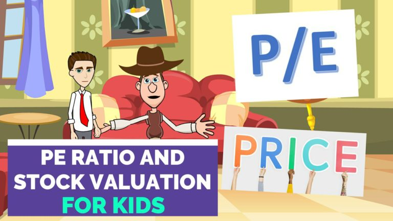 Using Price Earnings (P/E) Ratio for Stock Valuation – Easy Peasy Finance for Kids and Beginners – Podcast