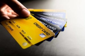 Rotate credit cards based on where you are using them