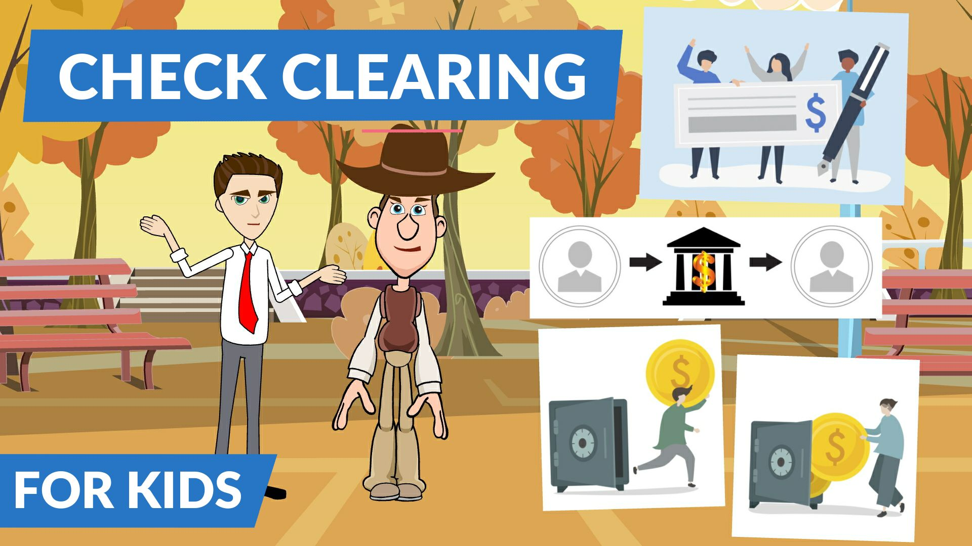 What is clearing of check or check clearing