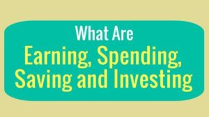 Earning Spending Saving and Investing - Infographic - Thumbnail
