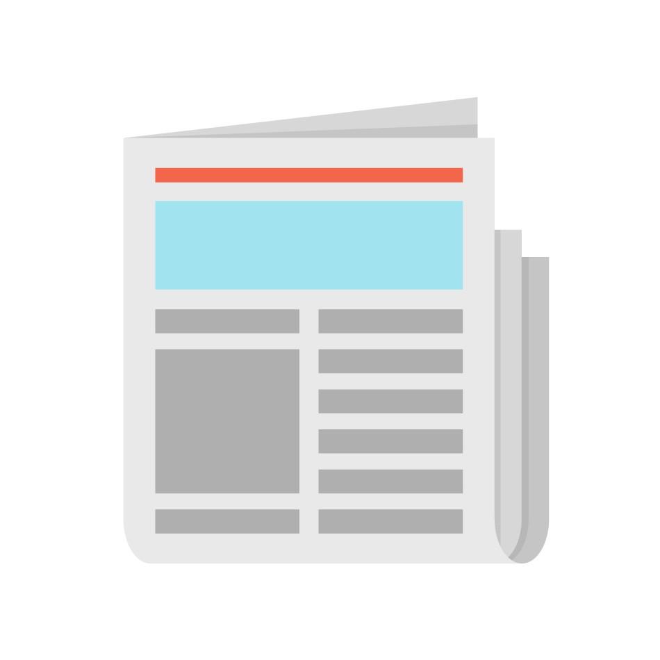 Media - Print Newspaper Magazine