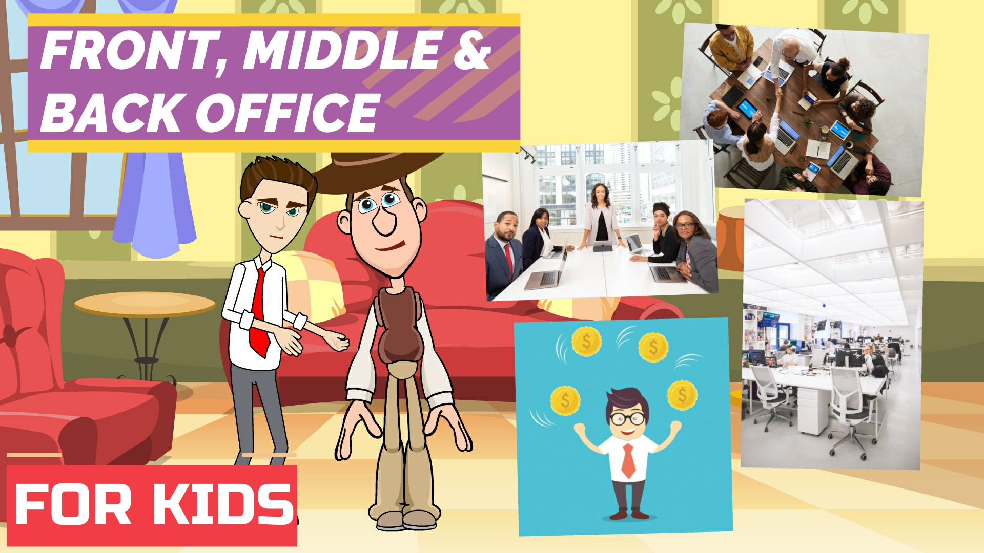 Front Office Middle Office and Back Office of a Bank