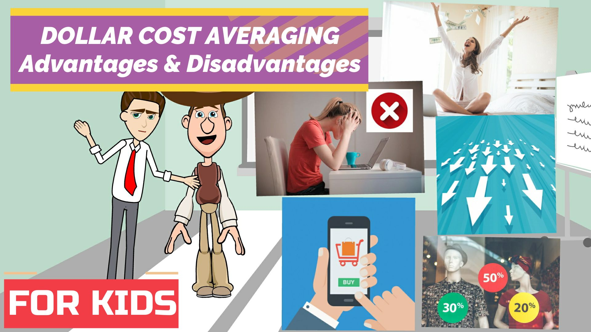 Dollar Cost Averaging - Advantages and disadvantages