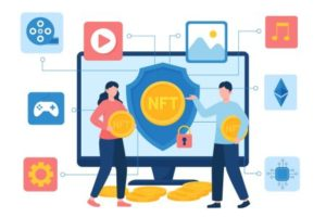 NFTs or Non Fungible Tokens for Kids Teens and Beginners