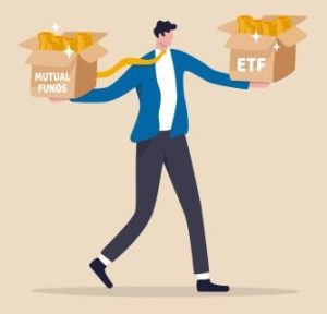 Type of Funds for Investing - Index Funds ETF or Mutual Funds MF