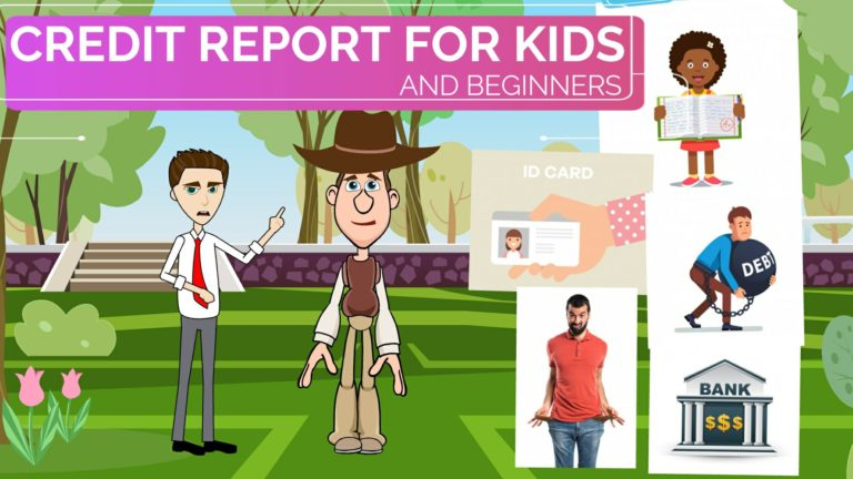 What is a Credit Report – Easy Peasy Finance for Kids and Beginners – Podcast