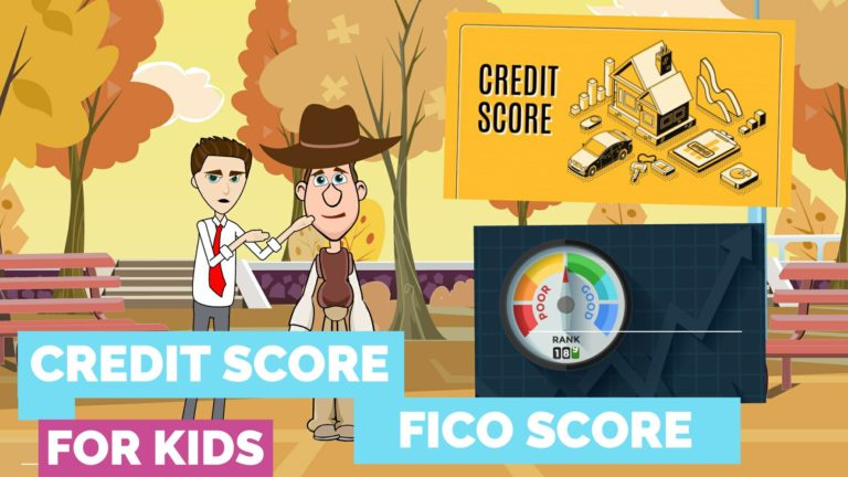What is Credit Score or FICO Score – Easy Peasy Finance for Kids and Beginners – Podcast
