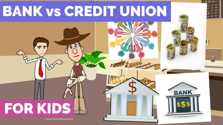 Banks vs Credit Unions – Easy Peasy Finance for Kids and Beginners – Podcast