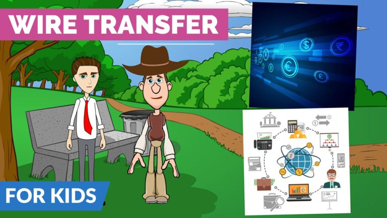 What is a Wire Transfer – Easy Peasy Finance for Kids and Beginners – Podcast