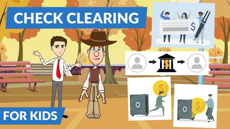 What is Clearing of Check – Easy Peasy Finance for Kids and Beginners – Podcast