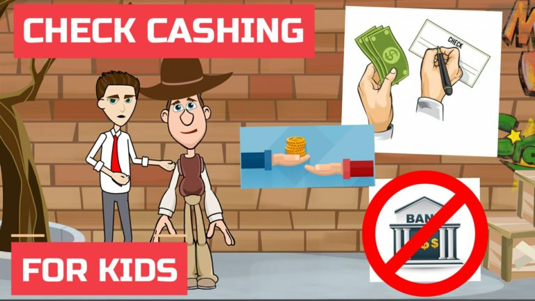What is Check Cashing or Cashing of Check / Cheque – Easy Peasy Finance for Kids and Beginners – Podcast