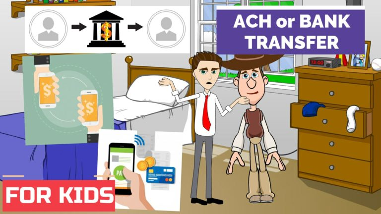 What is ACH Transfer or Bank Transfer – Easy Peasy Finance for Kids and Beginners – Podcast