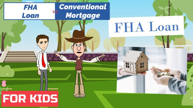 FHA Loan vs Conventional Mortgage – Easy Peasy Finance for Kids and Beginners – Podcast