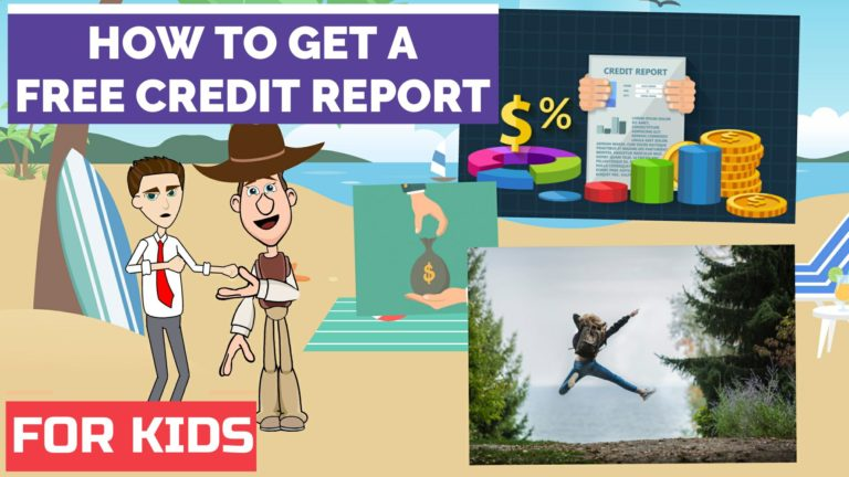 How to Get a Free Credit Report – Easy Peasy Finance for Kids and Beginners – Podcast