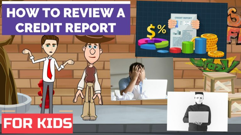 How to Review Your Credit Report – Easy Peasy Finance for Kids and Beginners – Podcast