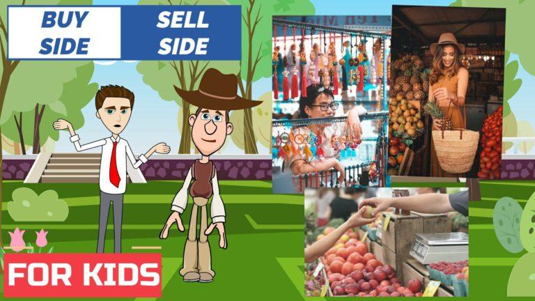 Buy Side and Sell Side Investment Banks – Easy Peasy Finance for Kids and Beginners – Podcast