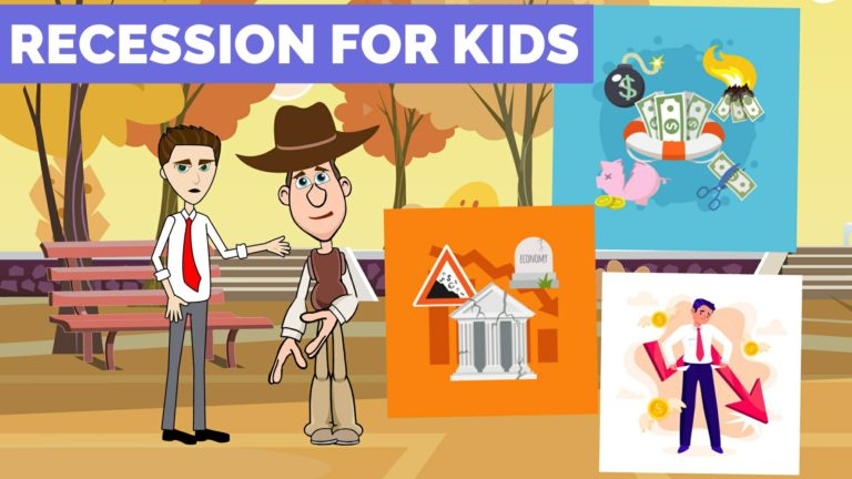 What is a Recession – Easy Peasy Finance for Kids and Beginners – Podcast