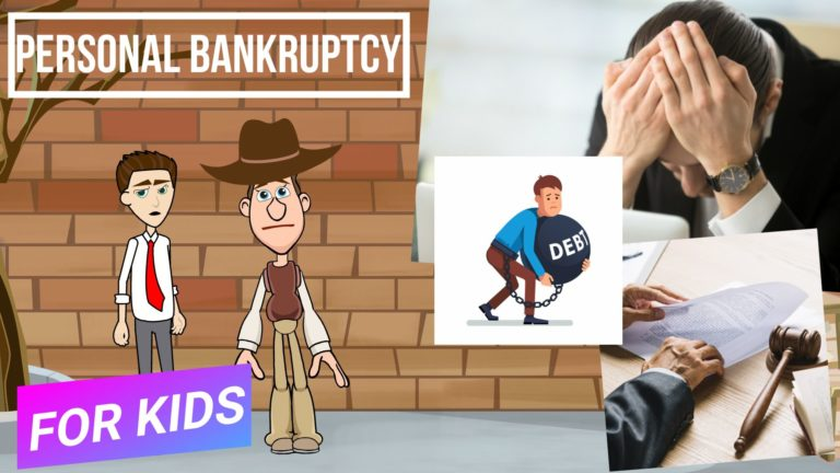 What is Bankruptcy – Easy Peasy Finance for Kids and Beginners – Podcast