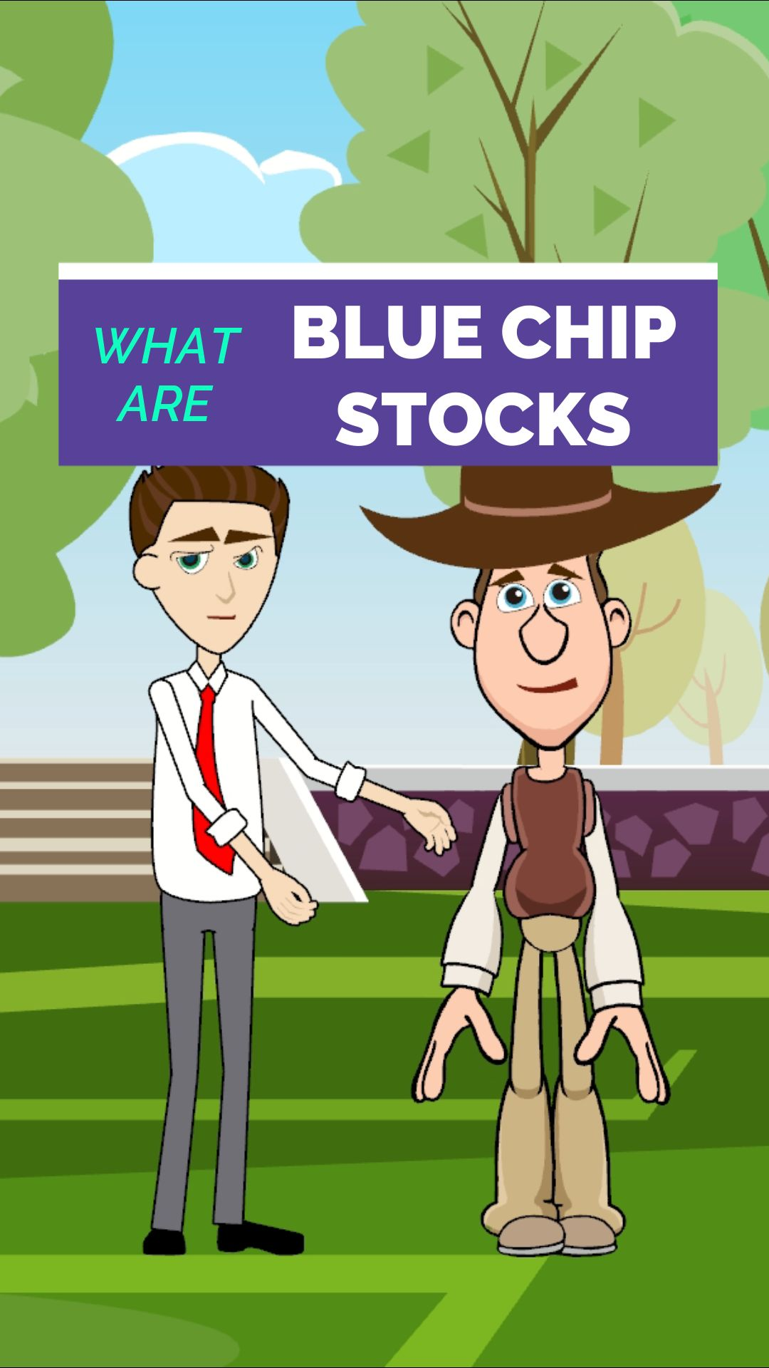 What are Blue Chip Stocks - Shorts