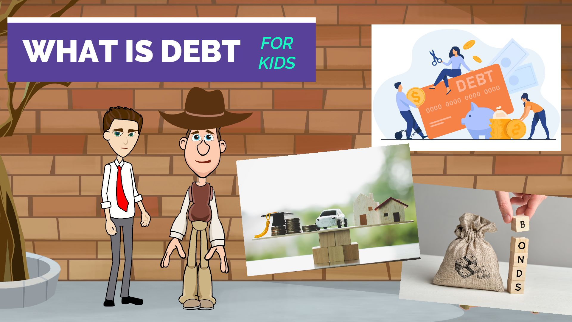 What is Debt for Kids Teens and Beginners